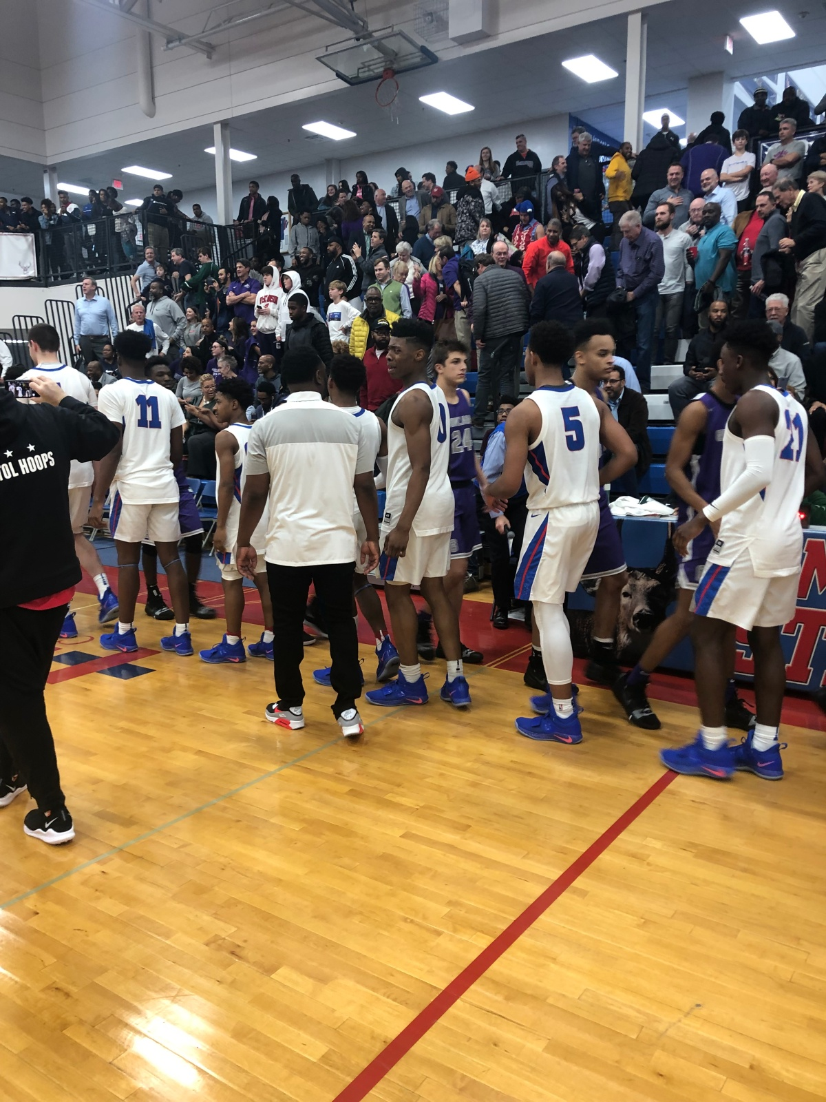 DeMatha Outlasts Gonzaga