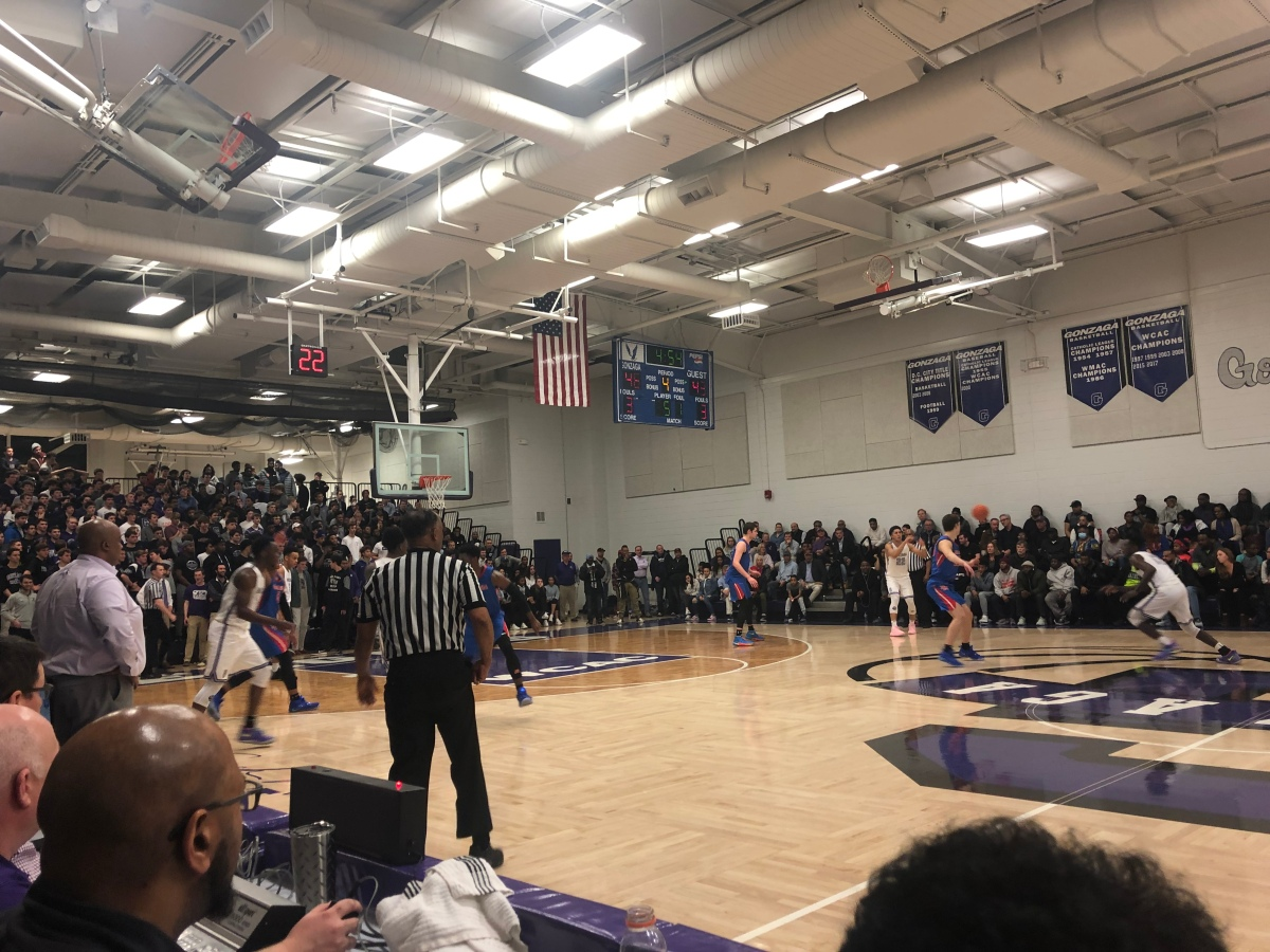Gonzaga Dispatches DeMatha